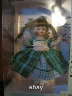 Madame Alexander 8 Kiss Me I'm Irish Doll