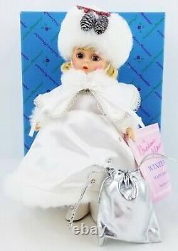Madame Alexander 8 MADC Premiere 1992 Wintertime Doll NIB