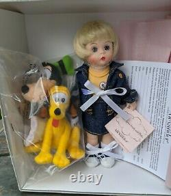 Madame Alexander 8 Wendy Loves Goofy and Pluto NIB 39565