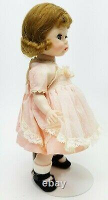 Madame Alexander 8 Wendy Loves Pinafores 1955 Bent Knee Walker Doll #429 NEW