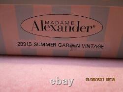 Madame Alexander 8 inch Summer Garden Vintage New