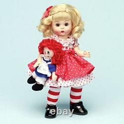 Madame Alexander 8 wendy Doll Raggedy Ann & me storyland Collection 2006 new