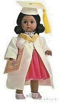Madame Alexander AFRICAN AMERICAN GRADUATION DOLL NEW 26107 CUTE BLACK GIRL