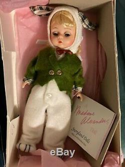 Madame Alexander Alice in Wonderland Doll Lot Mad Hatter, Caterpillar, Queen