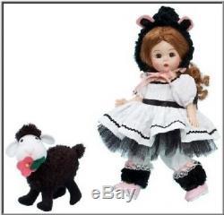 Madame Alexander Baa Baa Black Sheep 8 Doll Nursery Rhyme Collection #50580 Nib