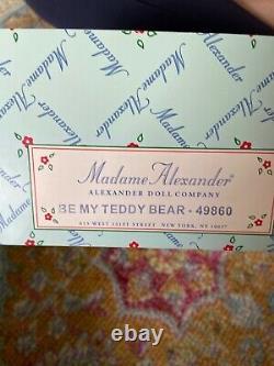 Madame Alexander Be My Teddy Bear ELVIS PRESLEY 8 Inch Doll # 49860