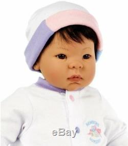 Madame Alexander Beautiful Baby 19'' baby Doll, Brown Hair Brown Eyes Asian