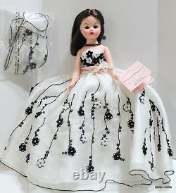 Madame Alexander Black & White Ball 10 Inch Cissette Convention Doll Mib