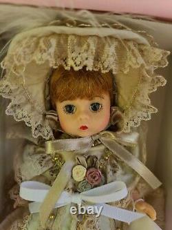 Madame Alexander Charming Silk Victorian 8 Doll 25035 Mint in Box
