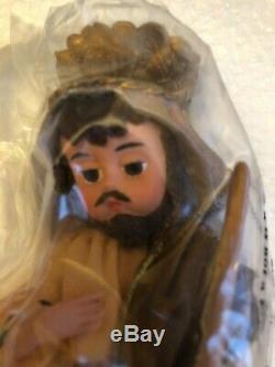 Madame Alexander Classic Collectibles, Nativity Set, Mary Joseph Jesus COA NIB