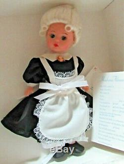 Madame Alexander Clue Card Game Collection Doll 25255 Candlestick Mrs. White NIB