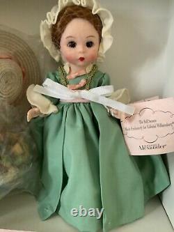 Madame Alexander Colonial Williamsburg The Fall Season #39175 COA