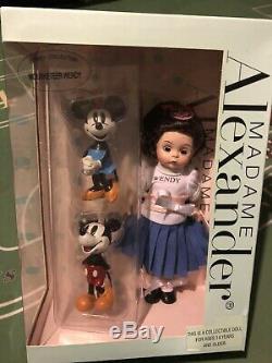 Madame Alexander Disney 8 Doll Mouseketeer Wendy Mickey Minnie 60725 NEW