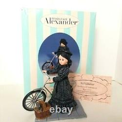 Madame Alexander Doll 13240 Wizard Of Oz Miss Gulch Doll Bicycle & Toto