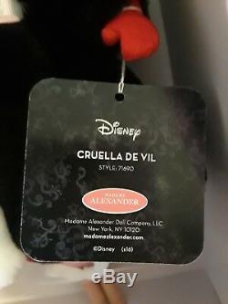 Madame Alexander Doll 71690 Cruella Deville 10 Villains Collection $219 NIB
