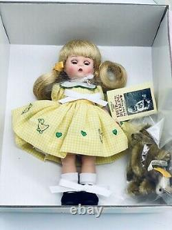 Madame Alexander Doll 8 Edith And The Duckling HC Book Dare Wright Tag Box