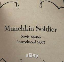 Madame Alexander Doll 8 inch Wizard Of Oz Series Munchkin Soldier 46345