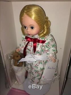 Madame Alexander Doll 80130 Christmas Morn' MIB 1999 C. U. Exclusive Rare Holiday