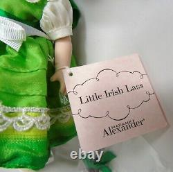 Madame Alexander Doll Little Irish Lass 42260 NIB 2005 Ireland Holiday Ed t341