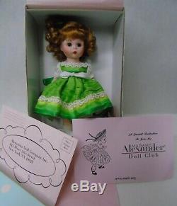 Madame Alexander Doll Little Irish Lass 42260 NIB 2005 Ireland Holiday NIB t341