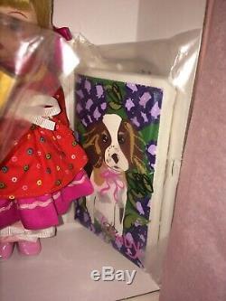 Madame Alexander Doll Painting My Puppy 61630 NIB 8 Doll