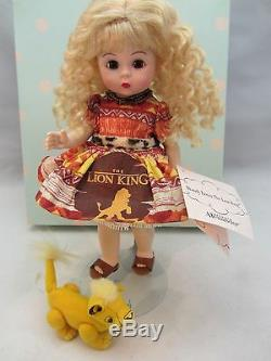 Madame Alexander Doll WENDY LOVES THE LION KING 8 2005