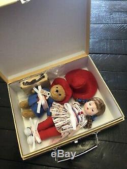 Madame Alexander Doll Wendy Loves Paddington Bear 50360 NIB 8 Trunk Set 2009 SE