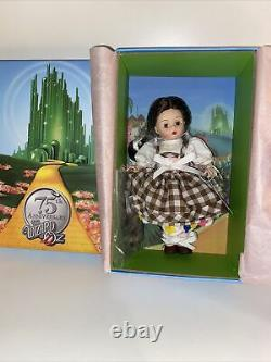 Madame Alexander Dorothy Arrives in Munchkinland Doll Wizard Oz 75th Anniversary