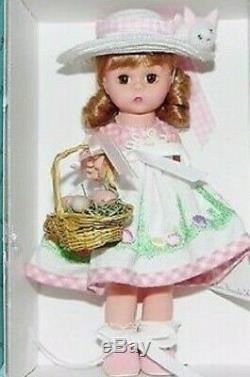 Madame Alexander Easter Egg Hunt 8 Doll Holiday Easter #25020 Nib