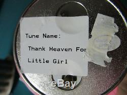 Madame Alexander Figurine Music Box Thank Heaven For Little Girls Nib