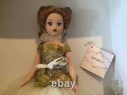 Madame Alexander GOLDEN NEW YEAR COQUETTE CISSY #40950 10 Doll withCOA