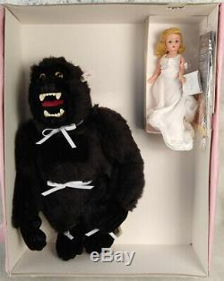 Madame Alexander King Kong mohair Fay Wray LE 200 NRFB Steiff FAO Schwarz RARE