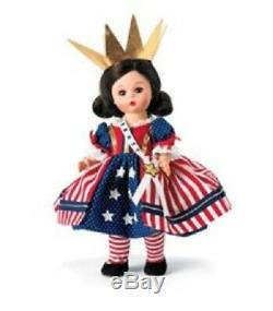 Madame Alexander Little Miss Liberty 8 Doll July 4th Americana Coll #51840 Nib