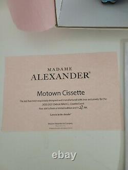 Madame Alexander Madc 10 Motown Cissette Convention Doll Nib