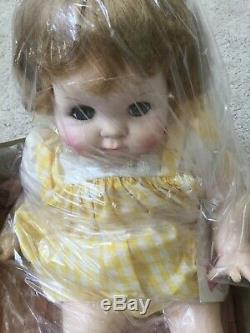 Madame Alexander PUDDIN Doll 20 yellow dress/blond #6930 NIB