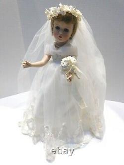 Madame Alexander Porcelain Bride Doll Danbury Mint Exclusive NRFB New