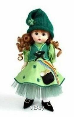 Madame Alexander Pot Of Gold 8 Doll St Patrick's Day Holiday #39260 Nib