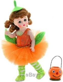 Madame Alexander Pumpkin Patch Pirouette 8 Doll Holiday Halloween #47775 Nib