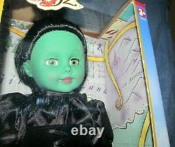 Madame Alexander Rare Wizard Of Oz Doll 18'' Vinyl Wicked Witch Unopened Nib