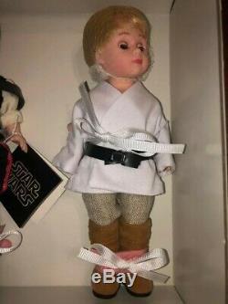 Madame Alexander STAR WARS 8 Leia, Han Solo, Luke Skywalker FAO Exclusive