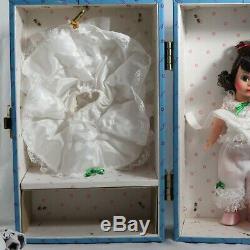 Madame Alexander Scarlett O'Hara 8 Doll Trousseau Honeymoon New Orleans Trunk
