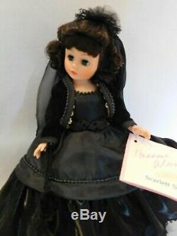 Madame Alexander Scarlett O'Hara Mourning Ball 10 IN NIB Cissette Portrettes