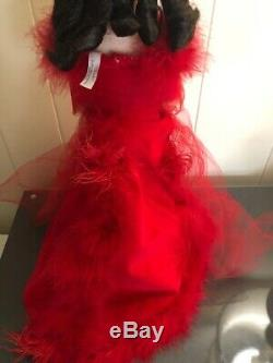 Madame Alexander Scarlett in Red Velvet Doll Gone With the Wind Nib No COA