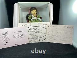 Madame Alexander Silk Rose Wendykin wood doll 40795 8 Doll NIB very rare NRFB
