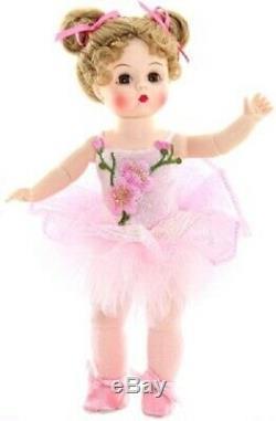 Madame Alexander Sparkling Flower Ballerina 8 Doll #50150 Nib