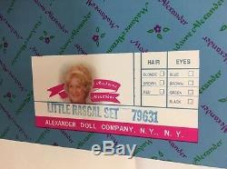 Madame Alexander The Little Rascals Doll Set New In Box FAO Schwartz Only 2000