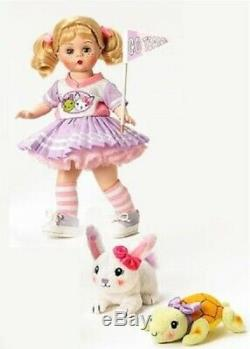Madame Alexander The Tortoise & The Hare 8 Doll Storyland Collection #50380 Nib