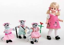 Madame Alexander Three Blind Mice 8 Doll Nursery Rhyme Collection #39945 Nib