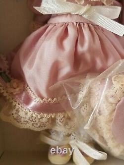 Madame Alexander Vintage Violet Silk Victorian 8 Doll NIB Collectible