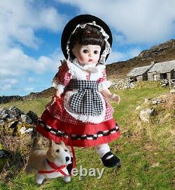 Madame Alexander Wales 8 Doll, Corgi, Hat Accessories, Bent Knee, Tag, HTF BNIB